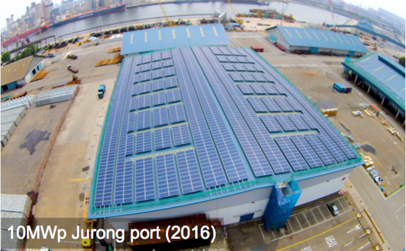 Commercial:10MWp  Jurong Port (2016)