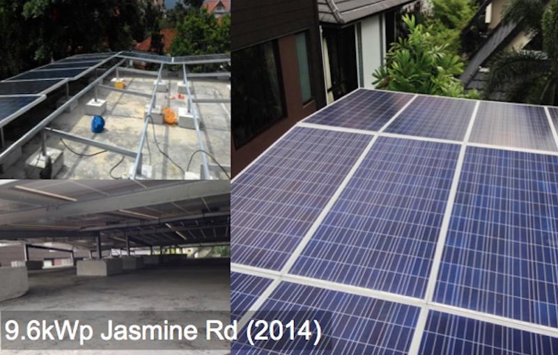Residential: 9.6kWp Jasmine Rd (2014)