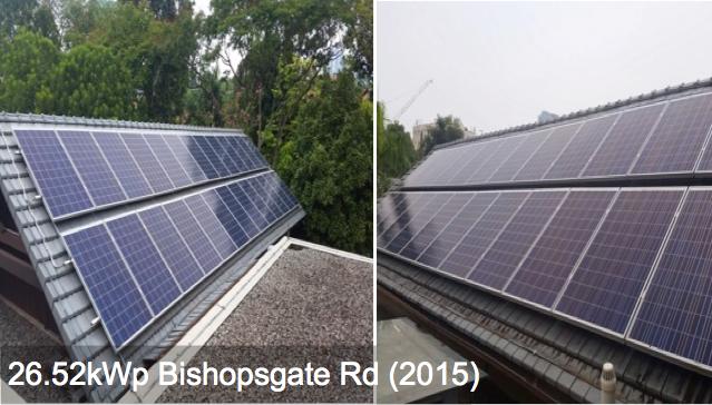Residential: 26.52kWp Bishopsgate Rd (2015)