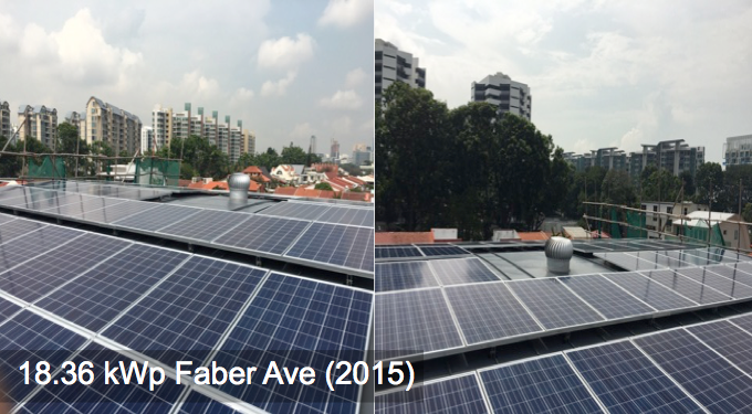 Residential: 18.36kWp Faber Ave (2015)