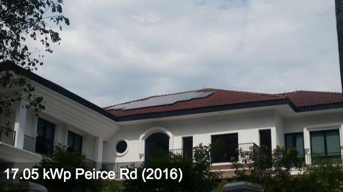 Residential: 17.05kWp Peirce Rd (2016)