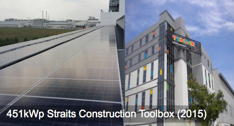 Commercial: 451kWp Straits Construction Toolbox (2015)